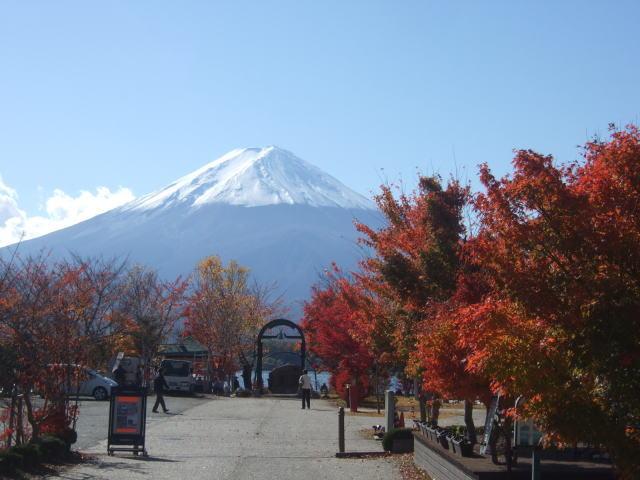 富士五湖の紅葉その1